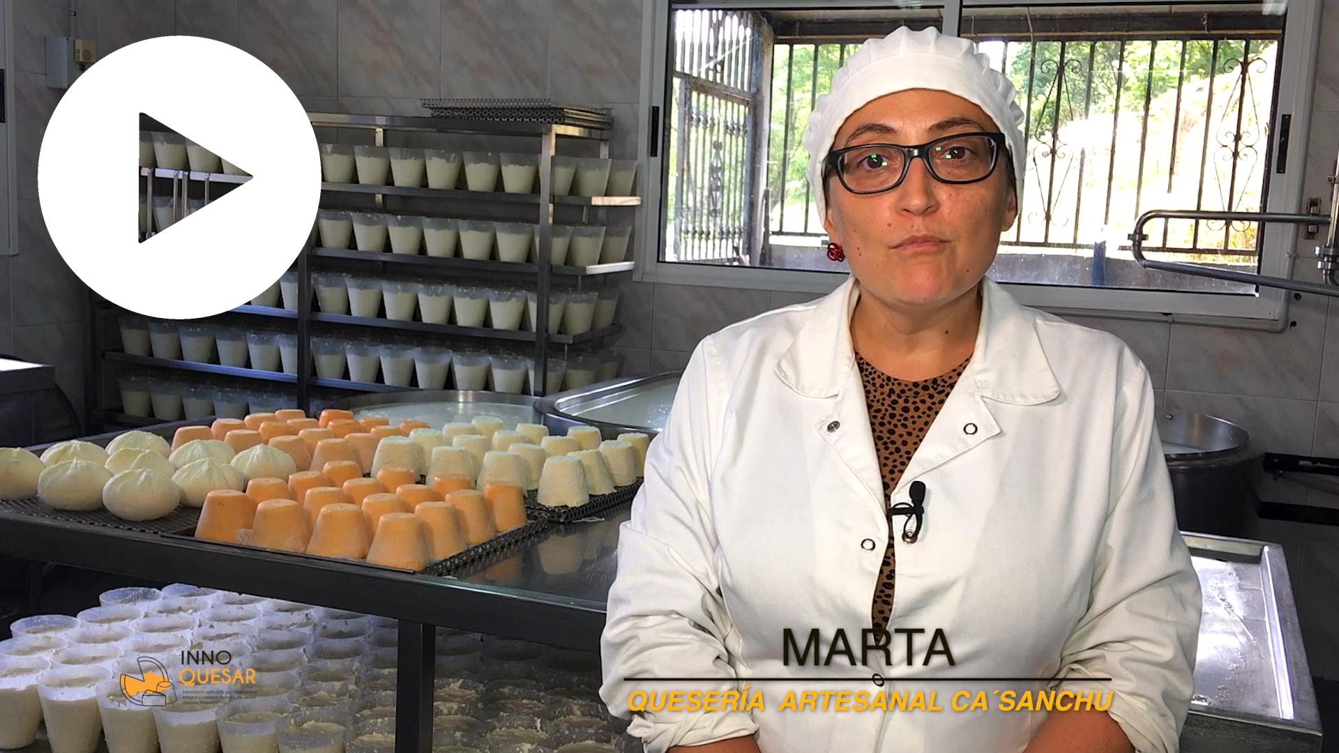 Marta Fernández: «El consumidor final podrá consultar la trazabilidad de nuestros quesos»