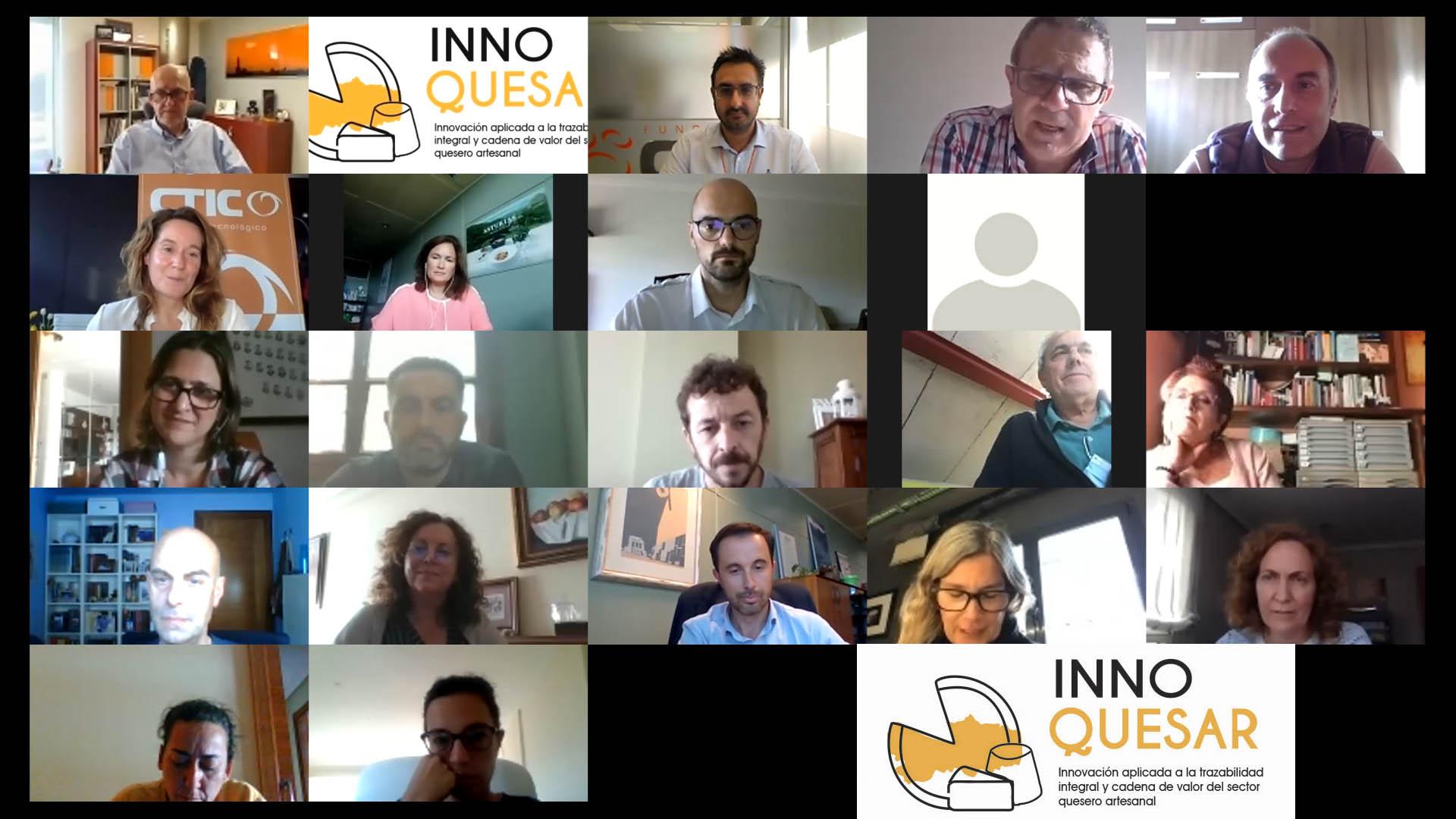 Innoquesar, una app que dará un impulso al sector de los quesos artesanales de Asturias